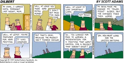 Dilbert bei der UNO