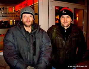 Uwe mit seinem besten Freund Rainer