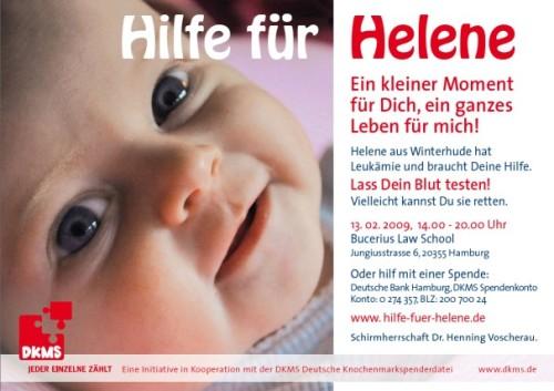 Hilfe für Helene