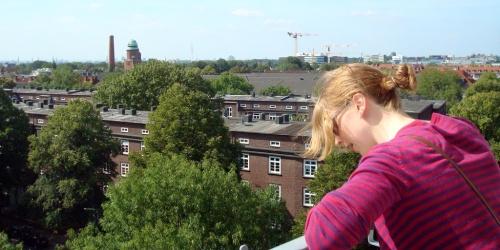 Uwe's Ausblick gefällt auch meiner Schwester :-)